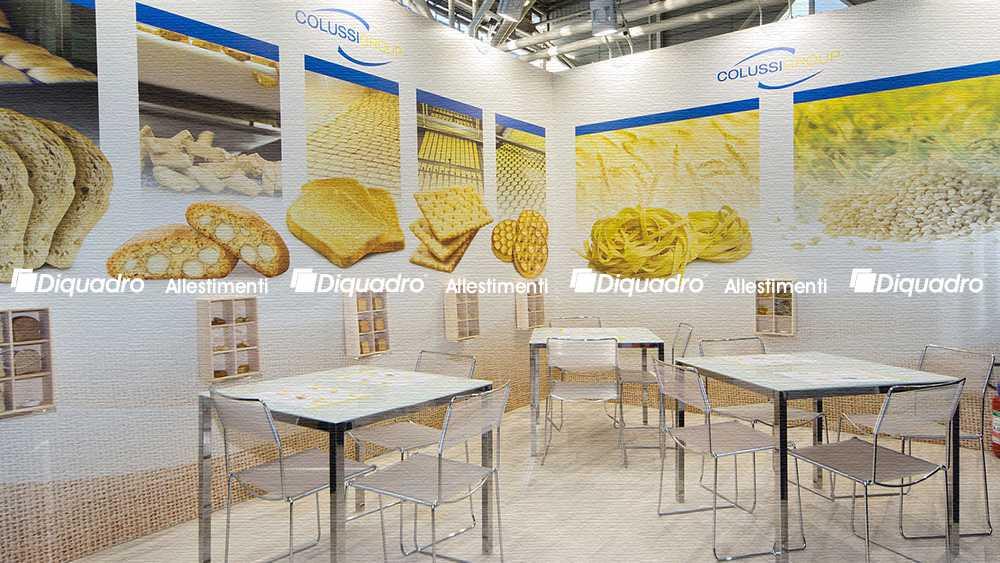 Favoloso Foto stand fieristici marca bologna DQ58